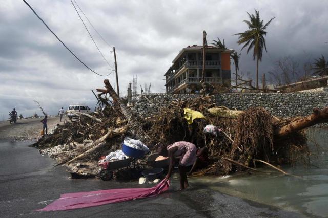 Organização Mundial da Saúde teme epidemia de cólera no Haiti Rodrigo ARANGUA/AFP