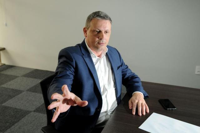 """""""Voltou o orgulho de ser torcedor do Juventude"""", avalia o presidente Roberto Tonietto Diogo Sallaberry/Agencia RBS"""