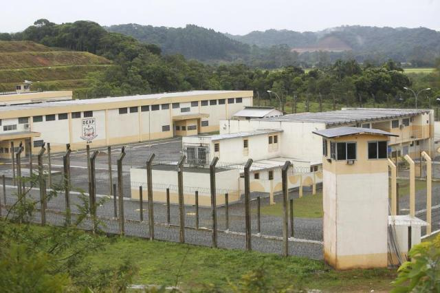 Complexo penitenciário de Itajaí passa de unidade modelo a centro da crise na segurança pública Leo Munhoz/Agencia RBS