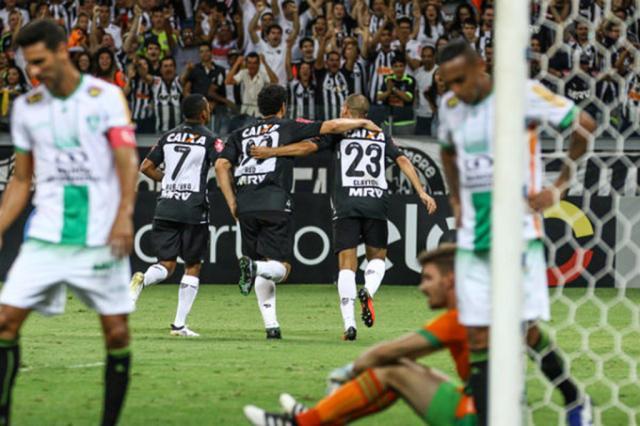 Atlético-MG vence o América e segue na cola dos primeiros colocados Bruno Cantini / Atlético-MG, Divulgação/Atlético-MG, Divulgação