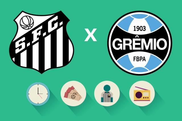 Santos x Grêmio: tudo o que você precisa saber para acompanhar a partida Arte/ZH
