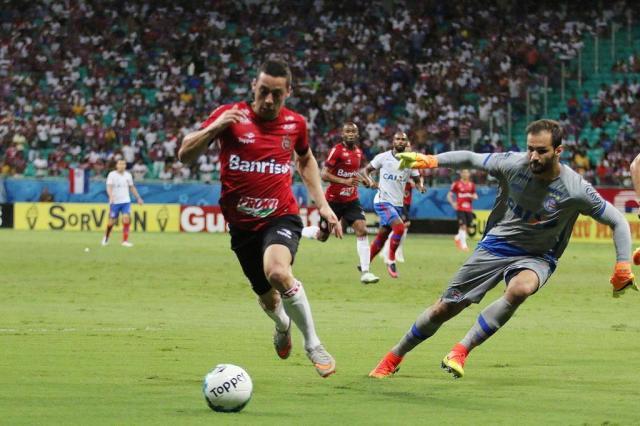 Brasil-Pel perde para o Bahia na Fonte Nova JONATHAN SILVA/GEB