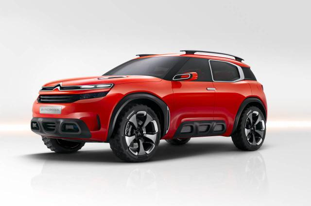 Visual robusto e interior conectado, este é o Concept Aircross Citroën/