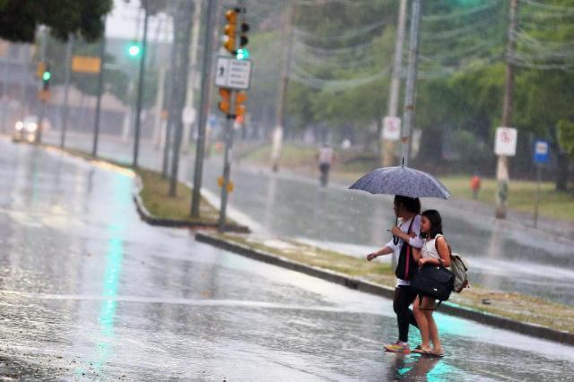 Tempo se mantém chuvoso no Rio Grande do Sul no domingo Camila Domingues/Especial