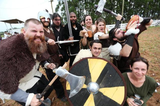 Festival celebra a cultura e a mitologia viking em Charqueadas Camila Domingues/Especial