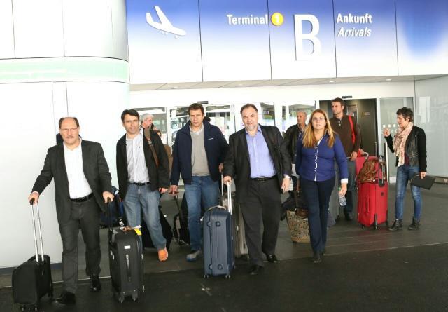 Governador Sartori chega à Europa para negociar investimentos no RS Divulgação/Palácio Piratini