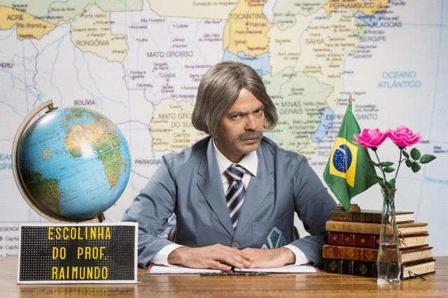 """""""Escolinha do Professor Raimundo"""" reestreia com homenagem a Chico Anysio João Miguel Júnior/TV Globo/Divulgação"""