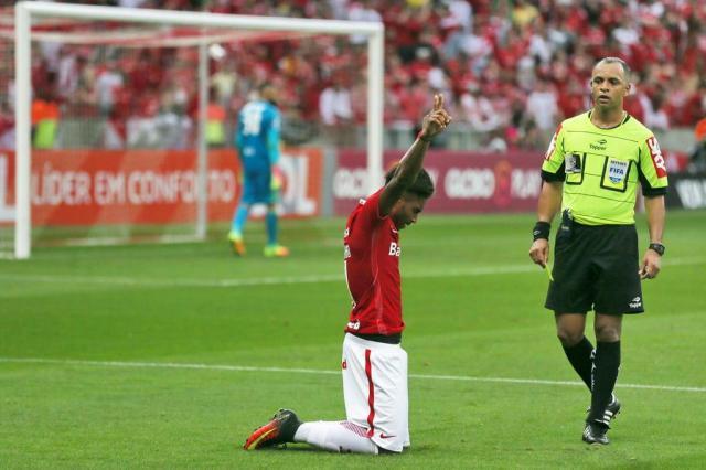 Inter reduz para 25% risco de rebaixamento após vitória sobre o Flamengo Lauro Alves/Agencia RBS