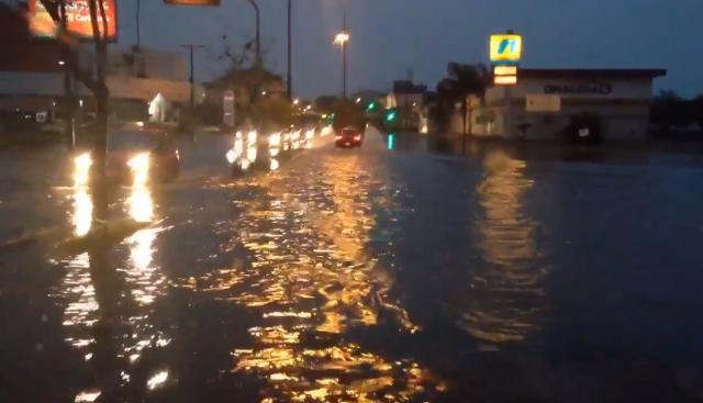 Semana começa com muita chuva no Rio Grande do Sul Reprodução / Twitter/Twitter
