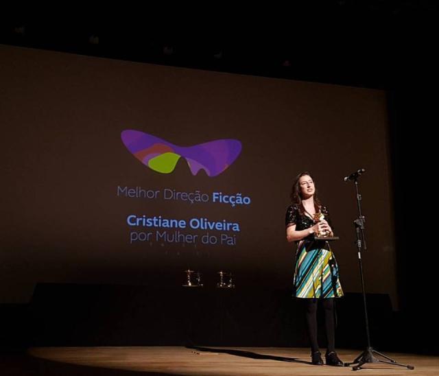 """Cristiane Oliveira é premiada no Festival do Rio com """"Mulher do pai"""" Divulgação / Festival do Rio/Festival do Rio"""