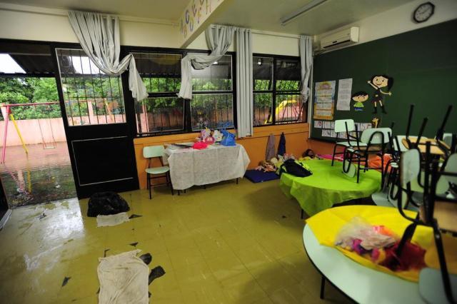 Escolas de Santa Maria suspendem aulas por causa da chuva Maiara Bersch/Agencia RBS