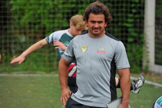 """""""É um sonho estar vivendo do rúgbi"""", diz jogador e um dos líderes de projeto da CBRu Germano Rorato/Agencia RBS"""
