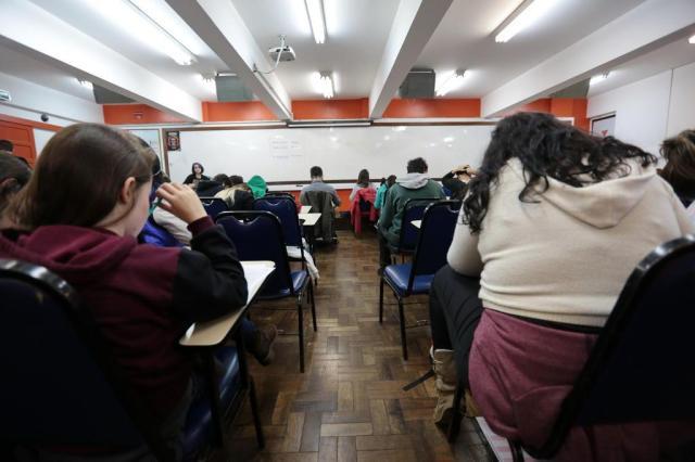 Enem concentra prova de Humanas em temas sociais André Ávila/Agencia RBS