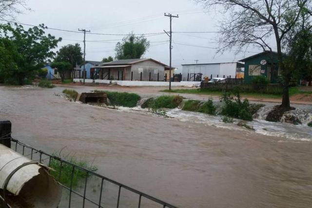 Prefeitura de Pantano Grande decreta situação de emergência Divulgação/Prefeitura de Pantano Grande