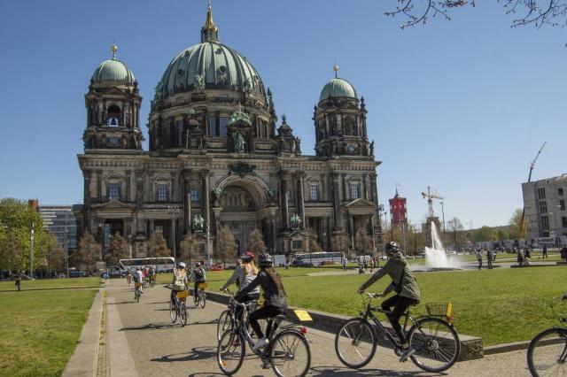 Conheça Berlim de bicicleta Sascha Möllering/Berlin on Bike,divulgação