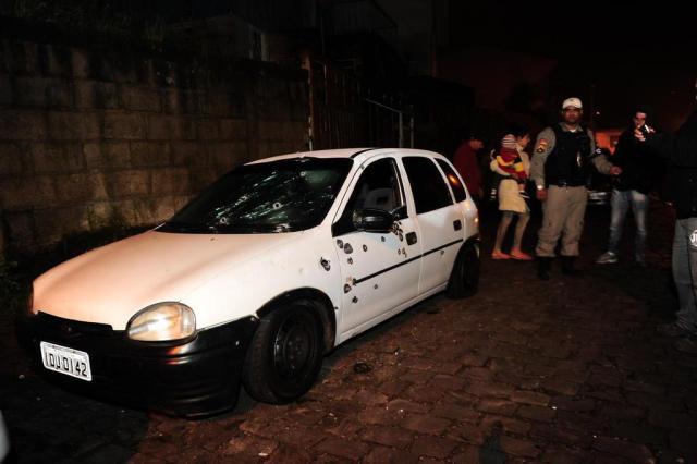 """""""Estavam bem armados e com a certeza do que iriam fazer"""", diz delegado sobre duplo homicídio em Caxias Porthus Junior/Agencia RBS"""