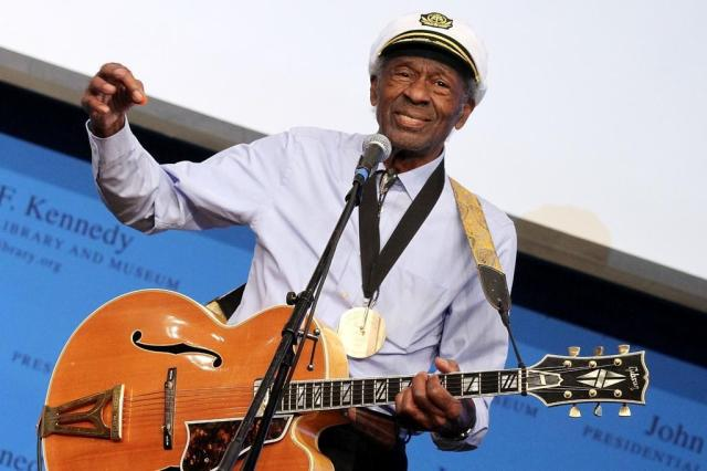 Chuck Berry anuncia, em seu aniversário, lançamento de novo álbum após 38 anos Divulgação/Prime