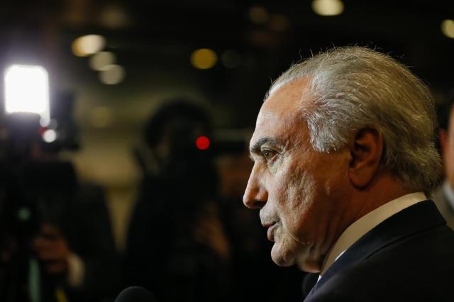 """Temer afirma que acusações contra ministros são """"simples alegações"""" Beto Barata/Presidência da República"""