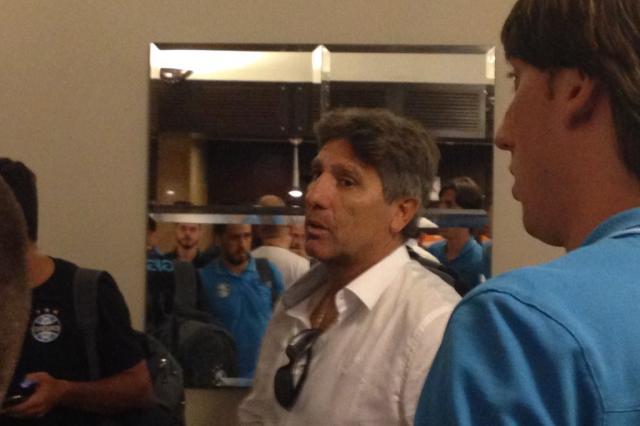 Grêmio chega a São Paulo para enfrentar o Palmeiras André Silva / Agência RBS/Agência RBS