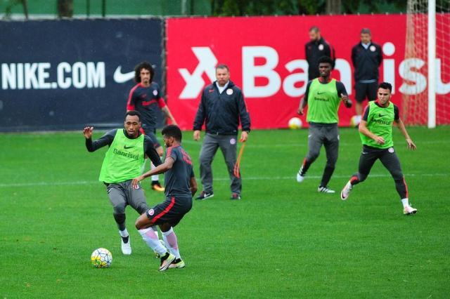 Andrigo é a principal novidade no time misto do Inter para jogo contra o Santos Camila Domingues/Especial