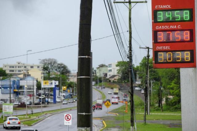 Etanol dispara e preço da gasolina reduz em apenas quatro postos de Santa Maria Maiara Bersch/Agencia RBS