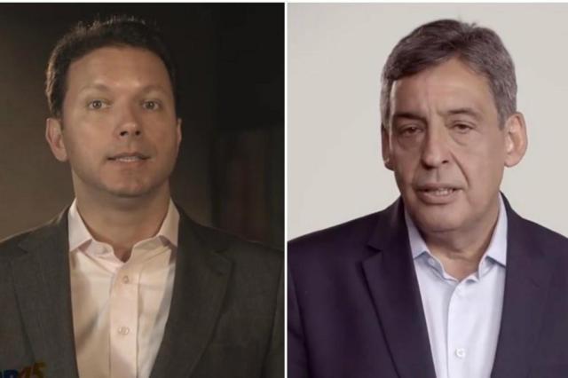 """Na TV, Marchezan pede """"paz"""" a Melo para sequência da campanha Reprodução/Reprodução"""
