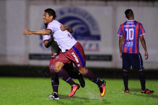 Caxias vence a Apafut e larga em vantagem na semifinal da Copa Larry Pinto de Faria Porthus Junior/Agencia RBS