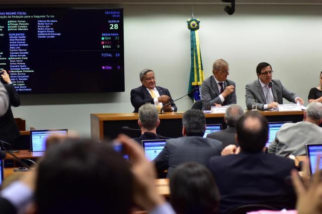 Comissão aprova texto final e PEC dos Gastos segue para votação em 2º turno Zeca Ribeiro/Câmara dos Deputados
