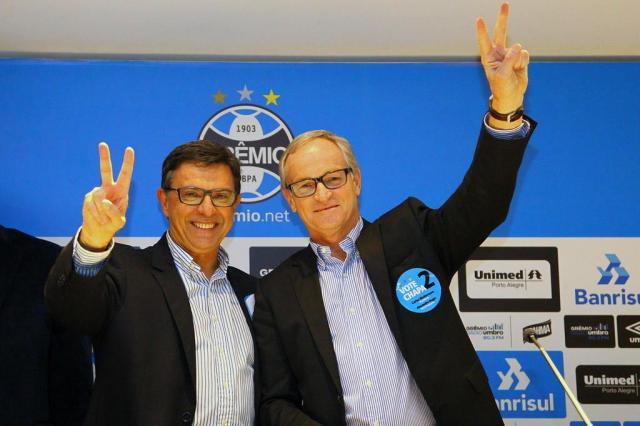 """Novo presidente do Conselho do Grêmio promete """"trabalho em conjunto"""" pelo clube Lucas Uebel/Grêmio/Divulgação"""