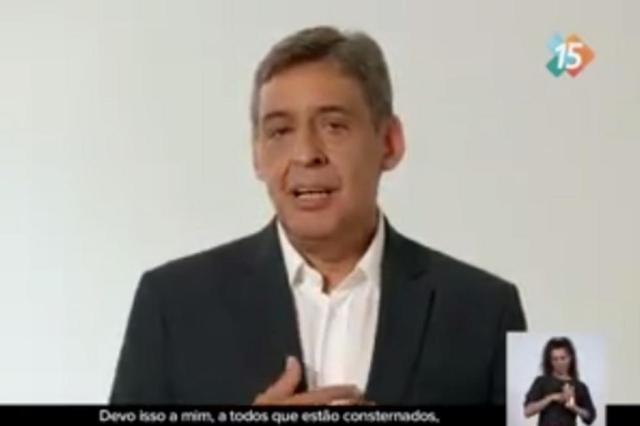 Na TV, Melo cobra Marchezan e diz que MBL perseguia Plínio Zalewski Reprodução/Reprodução