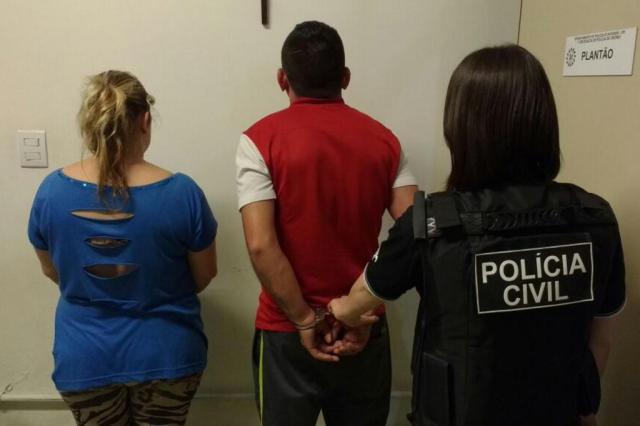 Presa família suspeita de comandar o tráfico na Vila Amazônia, zona norte de Porto Alegre Divulgação/Polícia Civil