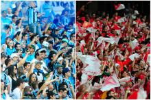 Briga das organizadas do Inter não afetará a torcida mista no Gre-Nal Montagem sobre fotos / Omar Freitas e Lauro Alves / Agência RBs/Omar Freitas e Lauro Alves / Agência RBs