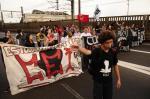 Manifestação contra a PEC do teto causa transtornos na chegada a Porto Alegre