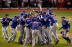 Chicago Cubs recebe oPrêmio Laureus de melhor equipe do ano Gregory Shamus/Getty Images/AFP