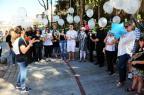 Amigos de empresário assassinado em Caxias do Sul fazem caminhada para chamar a atenção sobre a violência na cidade Porthus Junior/Agencia RBS