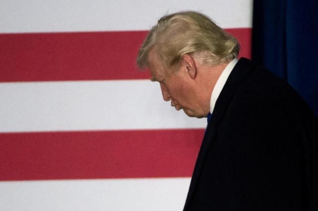 Conservadores temem pelo futuro do Partido Republicano se Trump perder eleição MOLLY RILEY/AFP
