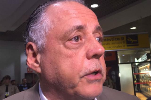 """""""Temos nossa tragédia pessoal, a fuga do rebaixamento"""", diz Carvalho sobre adiamento de rodada Amanda Munhoz / Agência RBS/Agência RBS"""