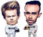 Favorito, Rosberg só precisa ir ao pódio para ser campeão da F-1 Arte ZH / Arte ZH/Arte ZH