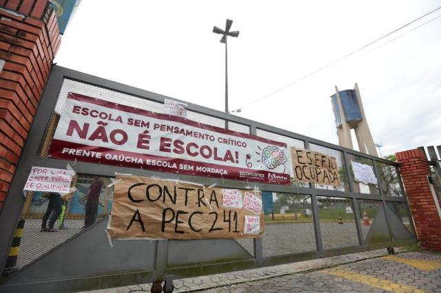 Ocupações de universidades e escolas mostram nova face do movimento estudantil André Ávila/Agencia RBS