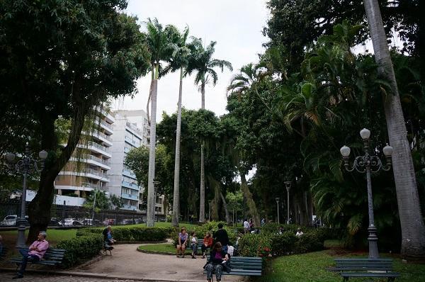 Jardins do Museu da República merecem uma visita Eleone Prestes / Arquivo Pessoal/Arquivo Pessoal