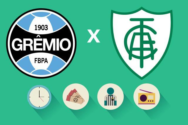 Grêmio x América-MG: tudo o que você precisa saber para acompanhar a partida Arte/ZH