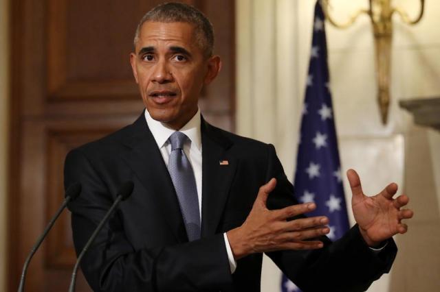 """Senado dos EUA dá primeiro passo para eliminar """"Obamacare"""" YORGOS KARAHALIS/POOL / AFP"""