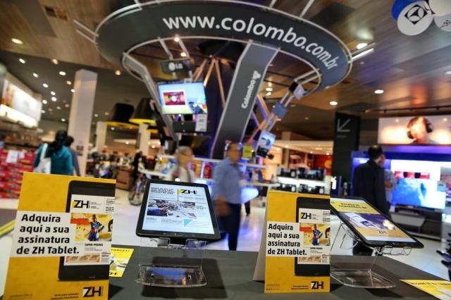 ZH Tablet chega a Lojas Colombo Camila Domingues/Especial