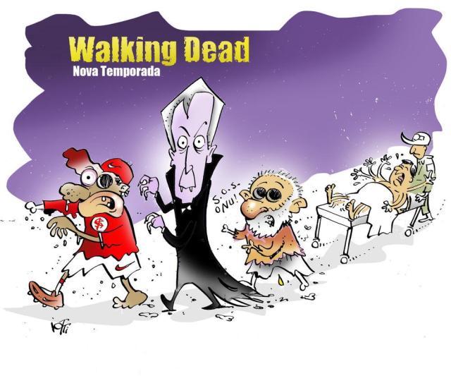 Resultado de imagem para lula walking dead charge
