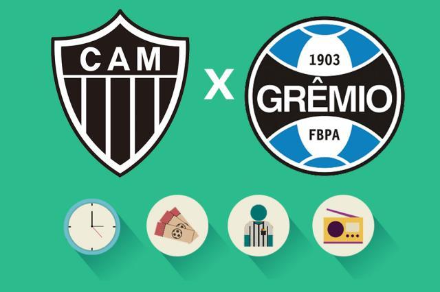 Atlético-MG x Grêmio: tudo o que você precisa saber para acompanhar a partida Arte ZH/