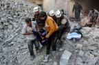 Leste de Aleppo não tem mais hospitais em funcionamento THAER MOHAMMED/AFP