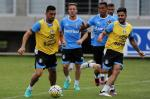 Grêmio faz último treino antes do primeiro jogo da final da Copa do Brasil