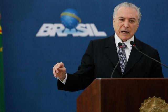 PSOL protocola pedido de impeachment contra Temer Beto Barata/Palácio do Planalto