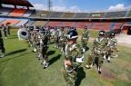 Emissoras da Colômbia começam transmissão do que seria a final da Copa Sul-Americana Bruno Alencastro/Agencia RBS