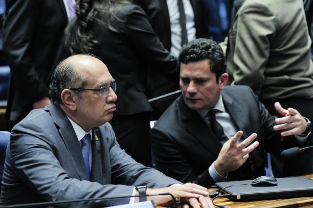 Gilmar bate de frente com Moro e elogia pacote anticorrupção Geraldo Magela/Agência Senado
